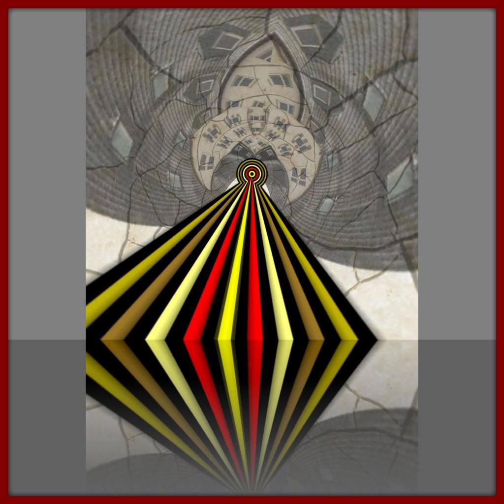 Boneray - abstrakte iPhoneart Februar 2012