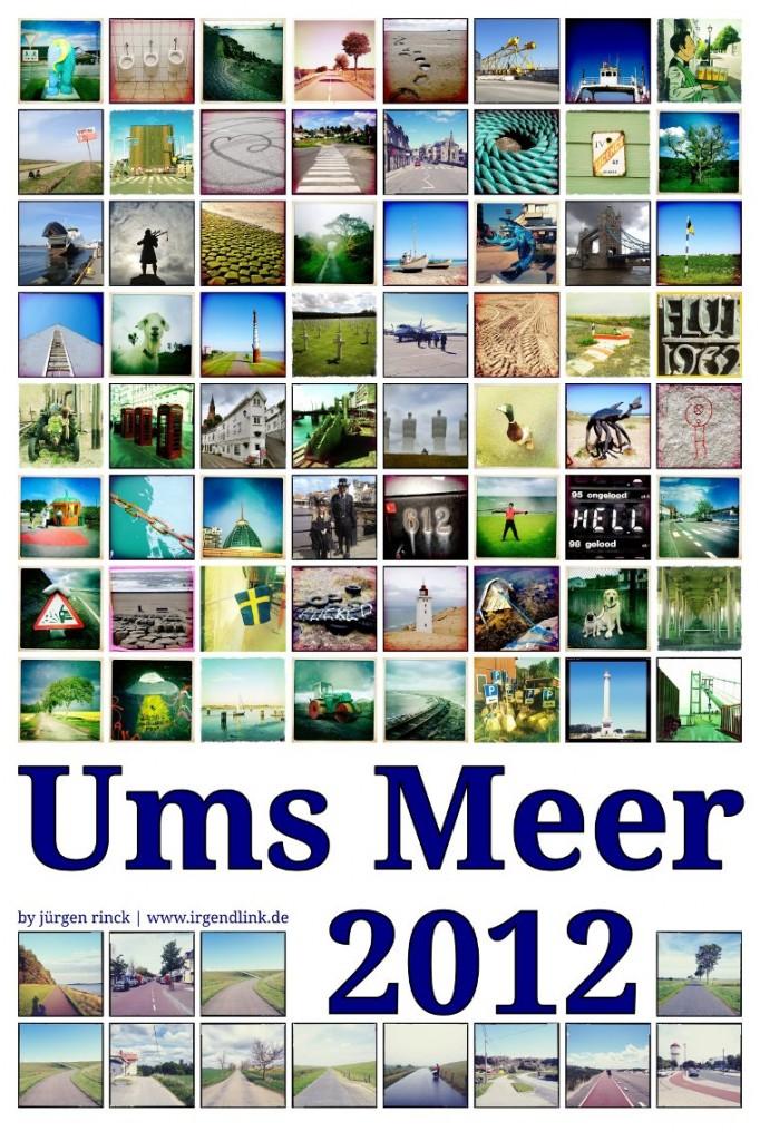 Nordseeradweg 2012 offizielles Dankesposter