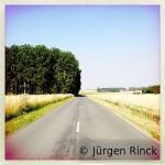 Streckenfoto Nordseeradweg, Rückweg, Frankreich