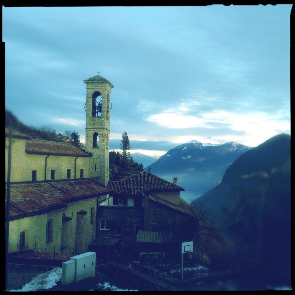 Kirche in Bré oberhalb Lugano
