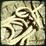 Seil auf Boden