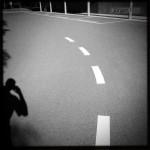 Schatten auf Straße