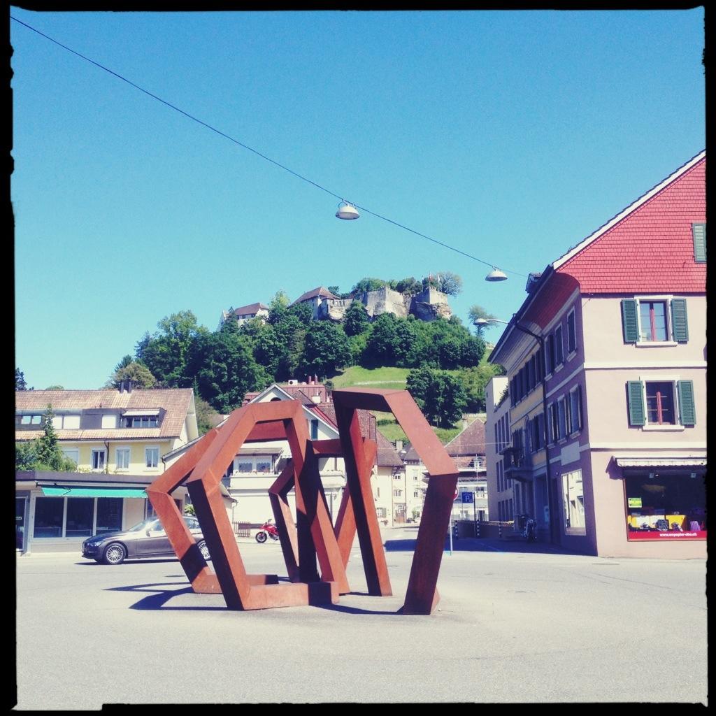 In Lenzburg (CH)