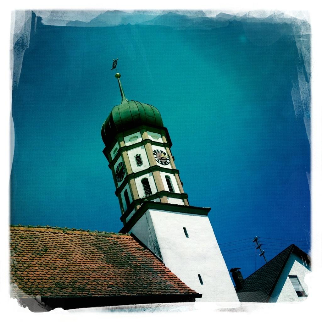 Kirchturm in Roßhaupten