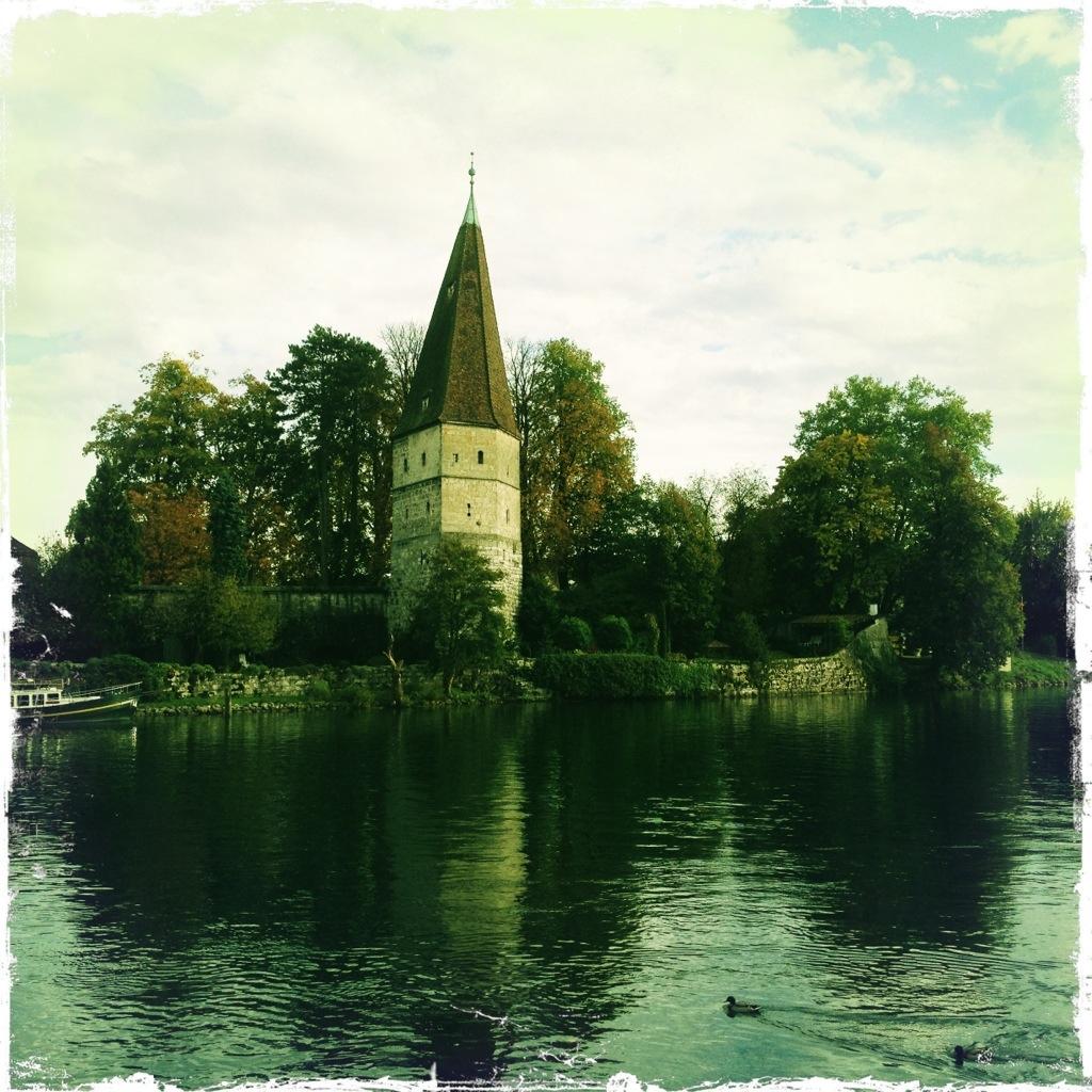 Der schiefe Turm von Solothurn