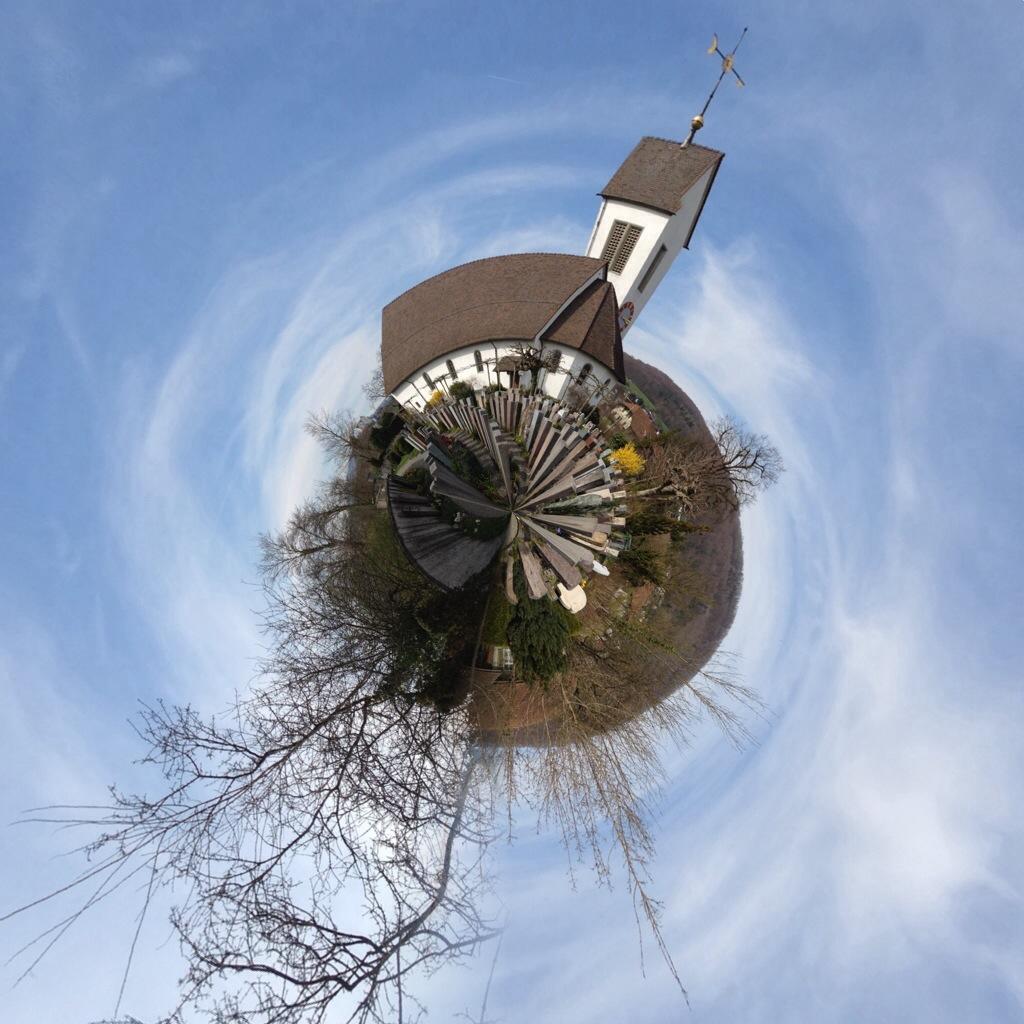 Planet Möriken Kirche
