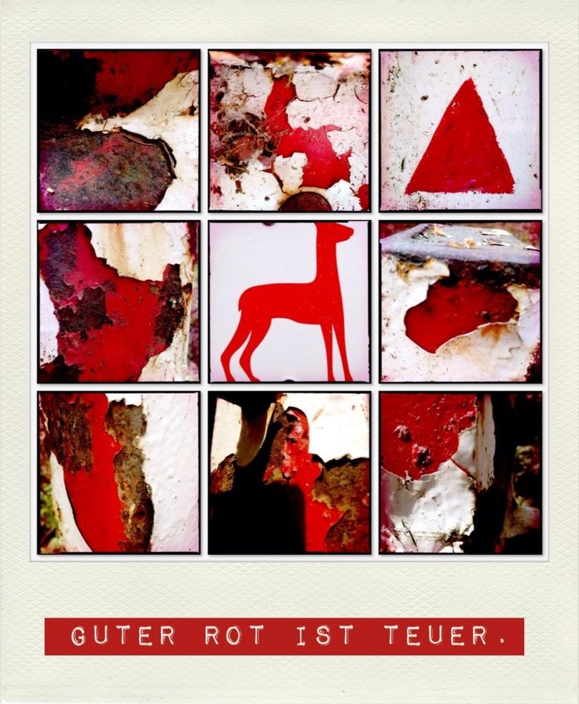 Guter Rot ist teuer - neun rötliche Fotos