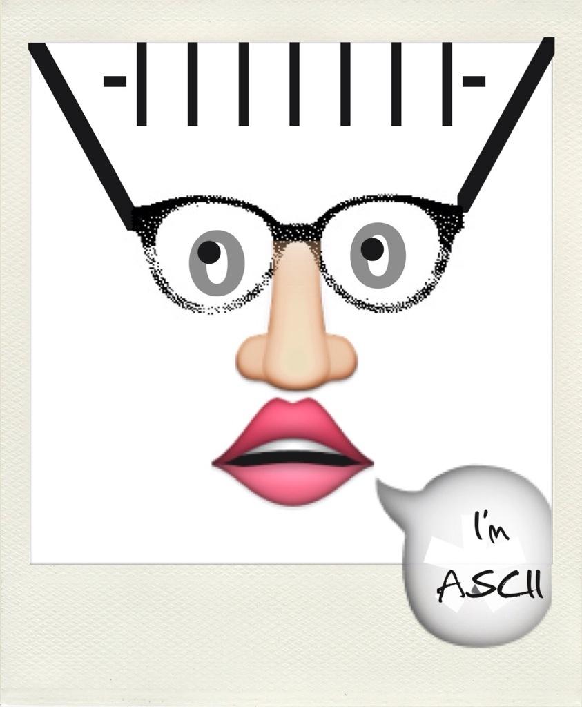 Jürgen Rinck - I'm ASCII appspressionistische Smartphonekunst 2014