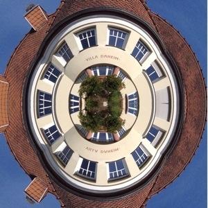 Villa Daheim Tiny Planet Photo