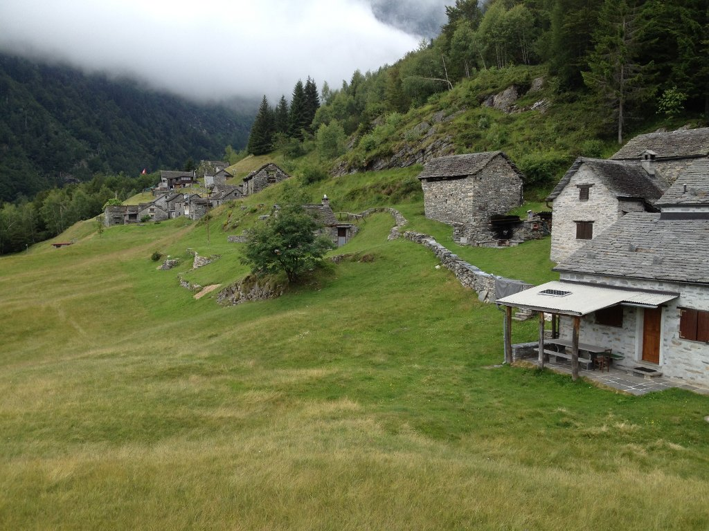 Alp Morella im Tessin
