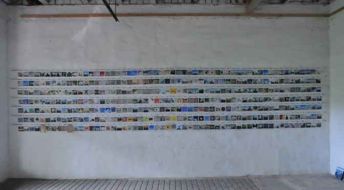 Fotoinstallation im Offenen Atelier auf dem Rinckenhof