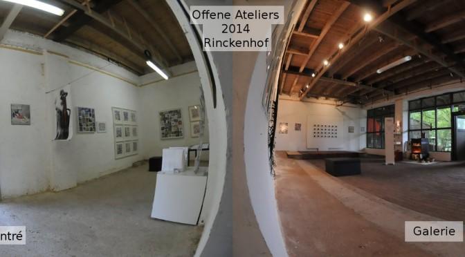 Offene Ateliers – Verlängerung neue Öffnungszeiten auf dem Rinckenhof