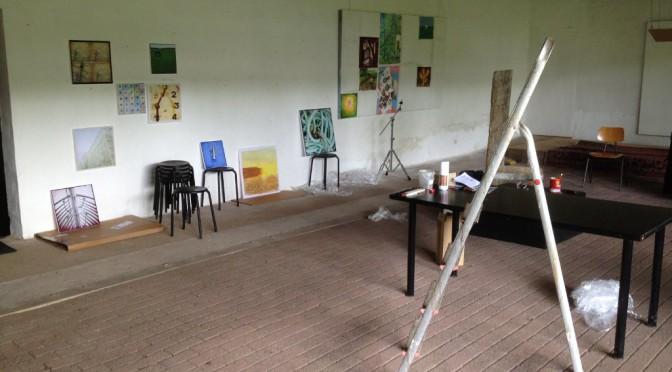 Irgendlinks Atelier im Umbau