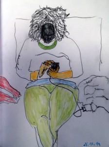 Sofasophia appt - Zeichnung
