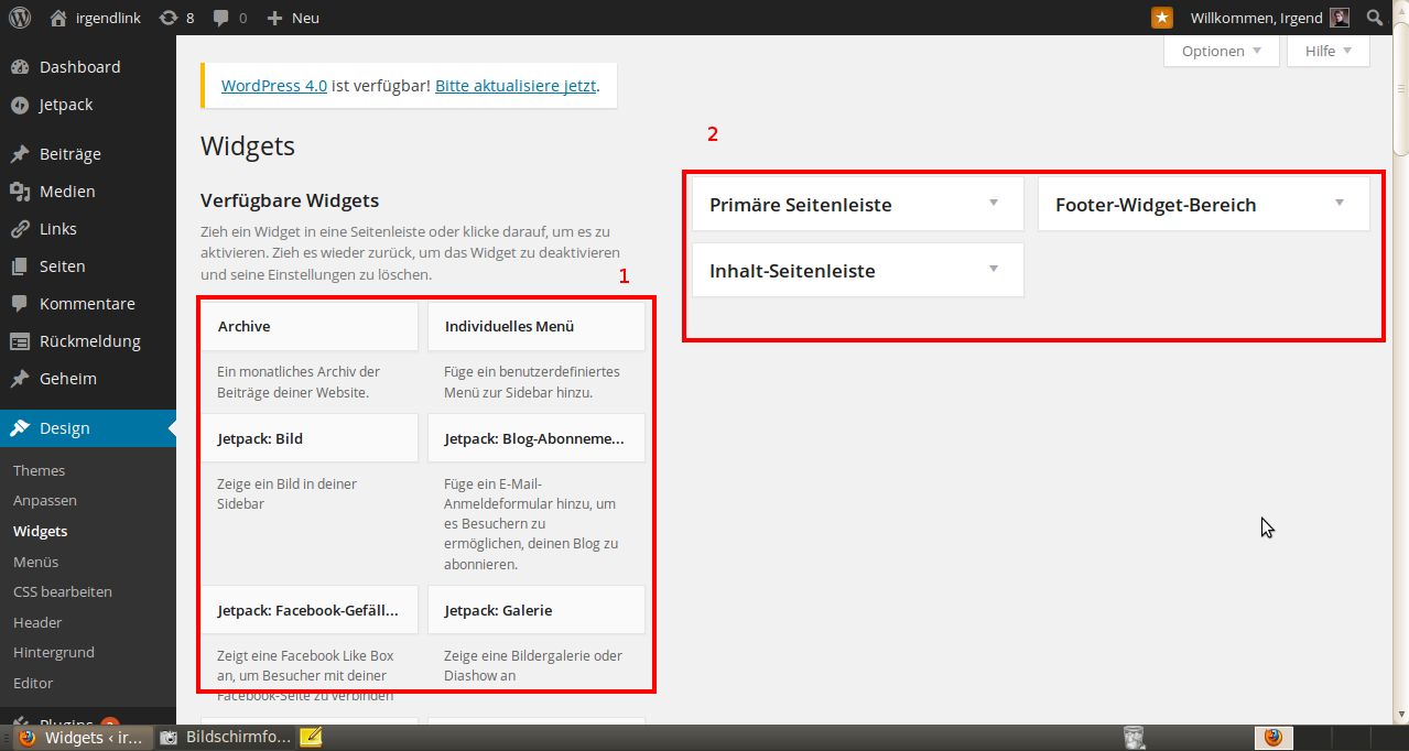 Wordpress Widgets 1