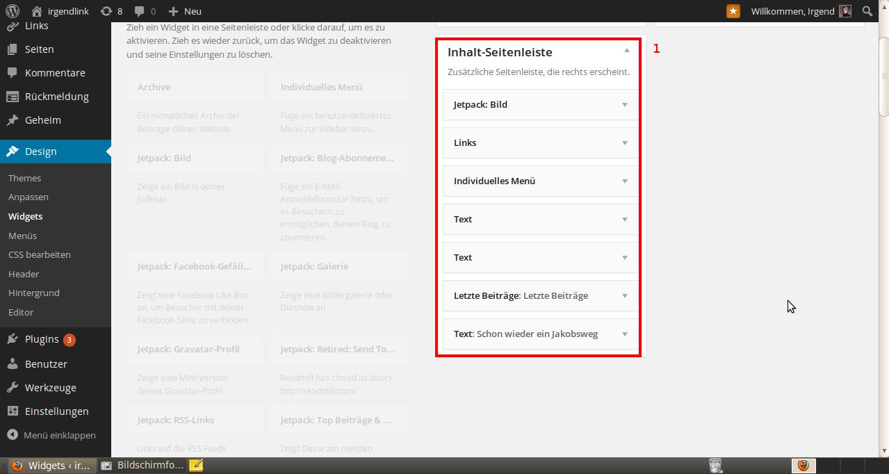 Wordpress Widgets 4