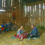 Schutz suchen in einer Scheune Kapschnitt 1995