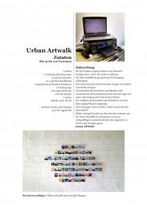 Rezept für einen Urban Artwalk