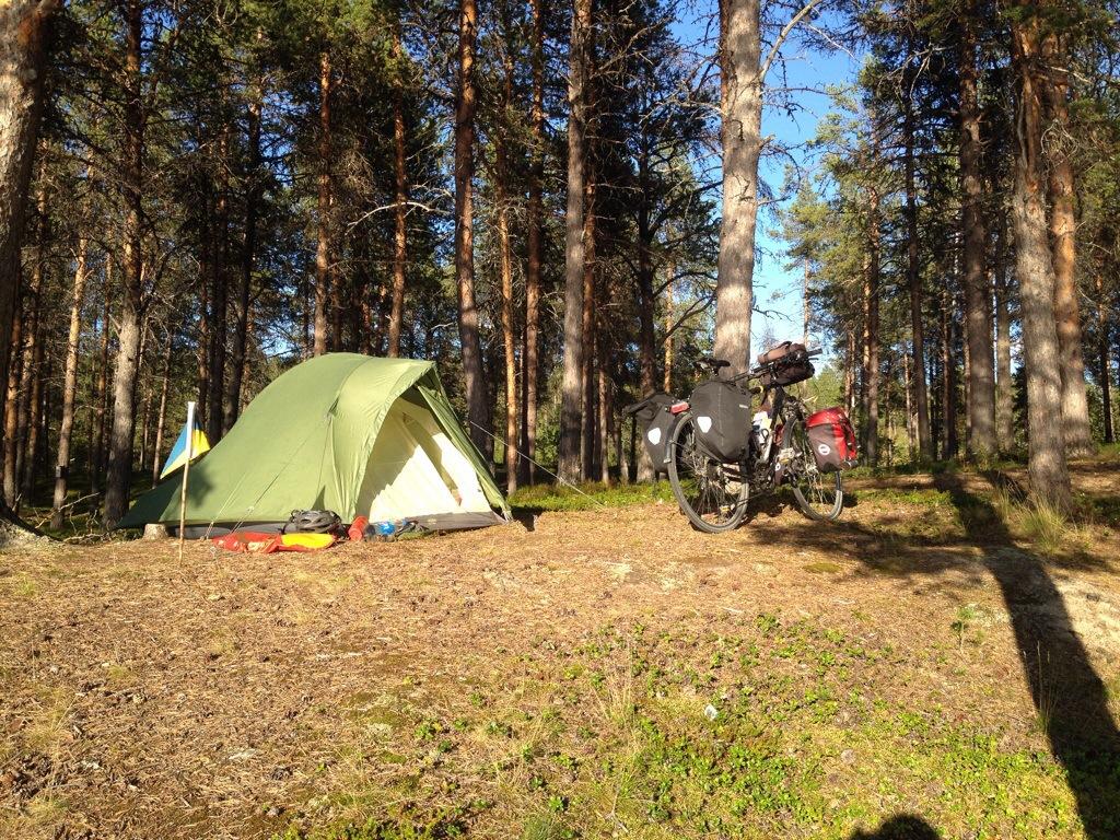 Wildzeltplatz in Käsivarrentie | Finnland