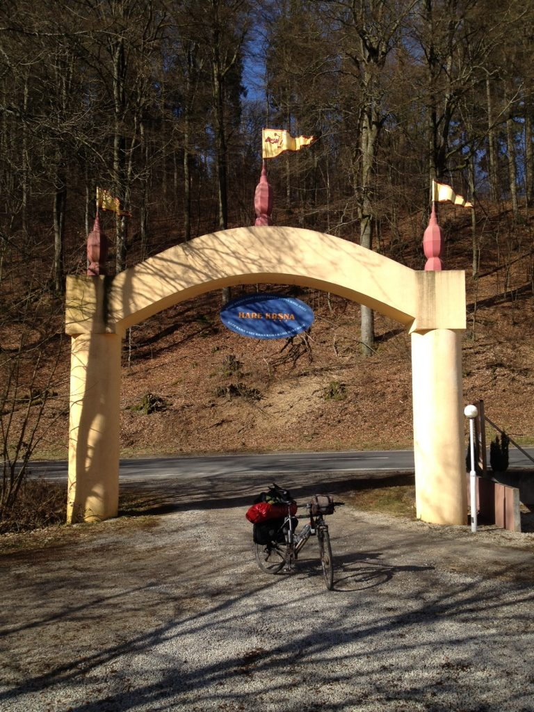 Das spirituelle Zentrum Goloka Dhama (http://goloka-dhama.de) im Traumbachtal.