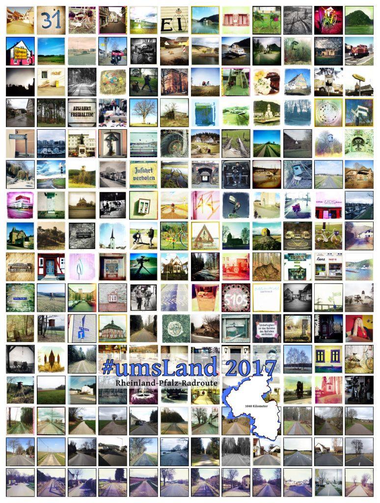 Bild mit 192 quadratischen Bildern